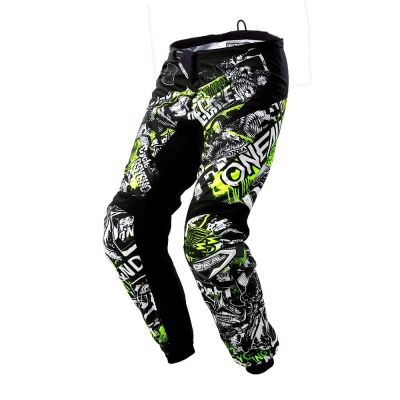 Pantalon O'Neal Element Attack Hi-viz Noir/Jaune
