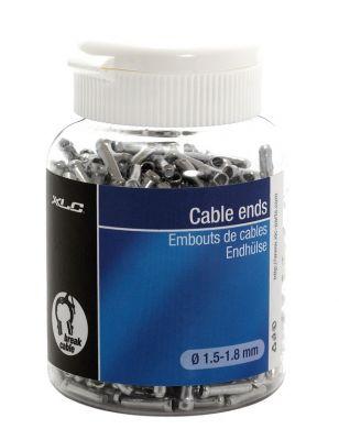 Embouts de câble XLC BR-X09 Alu (x500) Argent