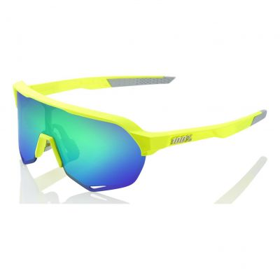 Lunettes 100% S2 Yellow/Green