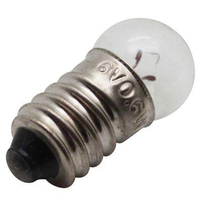 Ampoule 6V 0,6W E10 G14 Blanc (boîte de 10)