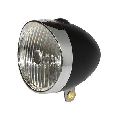 Éclairage AV AXA Classic LED sur garde-boue à piles Noir