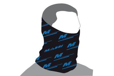 Tour de cou Massi Wind Adur Noir/Bleu fluo