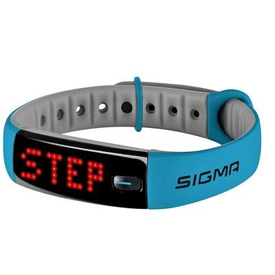 Bracelet connecté Sigma Activo Bleu