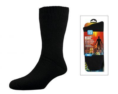 Chaussettes hiver Heat Holders Heat² super isolantes Noir