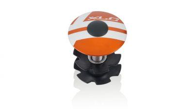 Bouchon et étoile A-Head XLC AP-S01 1.1/8'' Alu Orange