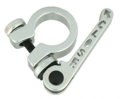 Collier tige de selle 25.4 mm serrage rapide