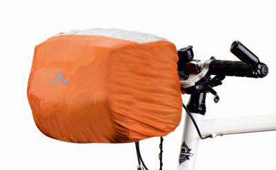 Housse imperméable Vaude pour sacoche de guidon Orange
