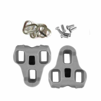 Cales pédales auto Roto compatibles Look Kéo 4,5 degrés Gris