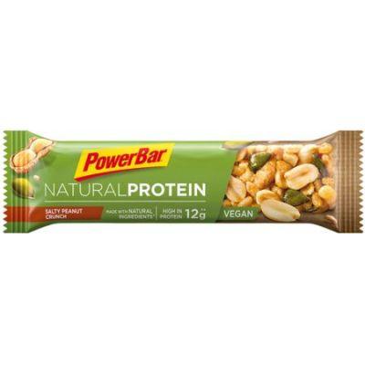 Barre protéinée PowerBar Natural Protein Vegan 40 g Cacahuète