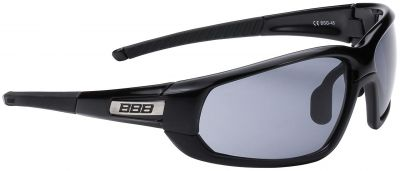 Lunettes BBB Adapt Fullframe verres fumés Noir mat/Noir - BSG-45