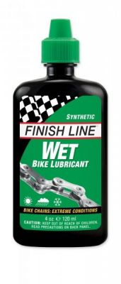 Lubrifiant chaîne Finish Line Wet Lube (Cross Country) 120 ml