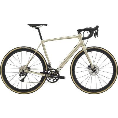 Vélo Route Cannondale Synapse Hi-Mod Disc Shimano Ultegra Di2 Champagne 2020