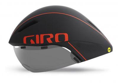 Casque Giro AEROHEAD MIPS Noir mat/Rouge