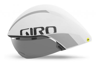 Casque Giro AEROHEAD ULTIMATE MIPS Blanc mat/Argent