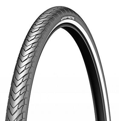 Pneu Michelin Protek 700 x 47C TR Noir/Flancs réfléchissants