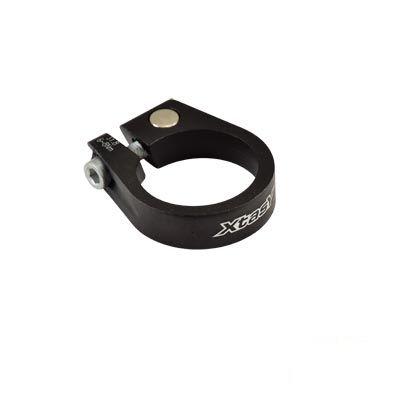Collier de tige de selle 31,8 mm Alu 6061 Noir