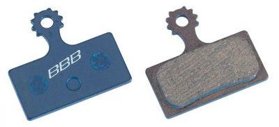 Plaquettes BBB DiscStop HP comp. Shimano XTR/XT organiques - BBS-56
