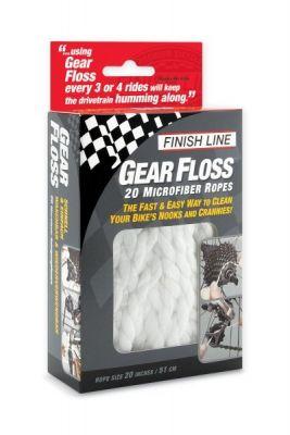 Kit d'entretien Finish Line Gear Floss (x20 cordelettes)