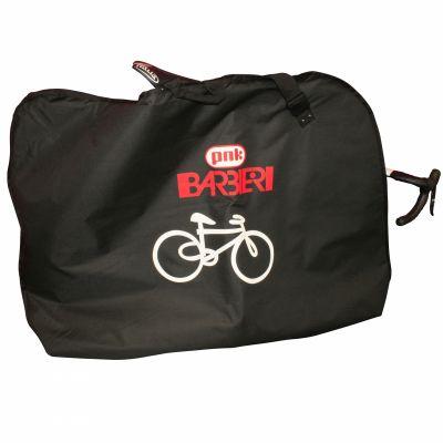 Housse de transport vélo Barbieri avec 2 poches pour roues Noir
