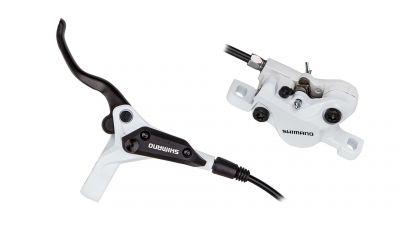Frein à disque hydraulique Shimano M396 avant blanc