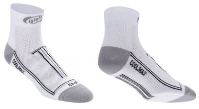 Chaussettes BBB TechnoFeet Coolmax (blanc) - BSO-01