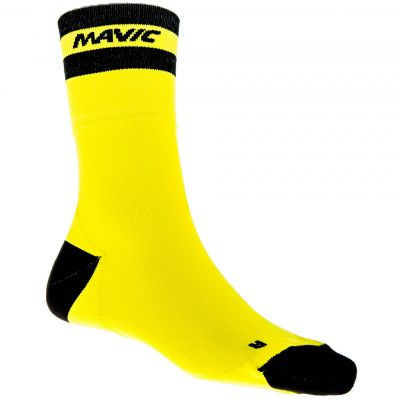Chaussettes Mavic Crossmax High Sock (Jaune)