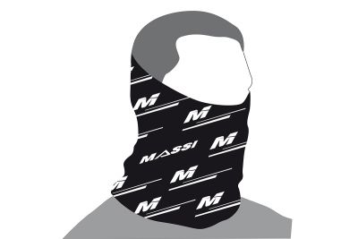 Tour de cou Massi Wind Adur Noir/Blanc