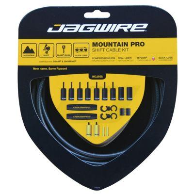 Kit complet câbles et gaines dérailleur Jagwire Mountain Pro - Noir Carbone MCK203