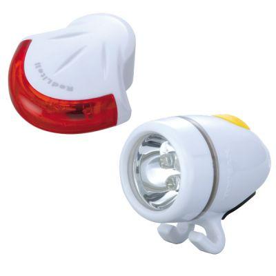 Éclairage avant + arrière Topeak HighLite Combo II WhiteLite II + RedLite II Blanc