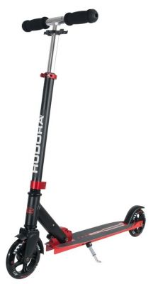 "Trottinette Hudora Big Wheel Bold 6"" Alu Noir/Rouge"