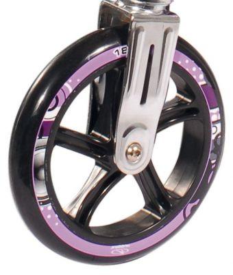 Roue trottinette Hudora Big Wheel 180 mm Noir/Violet (l'unité)