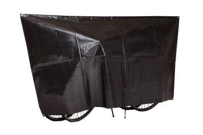 Housse 2 vélos VK avec œillets et cordon Noir
