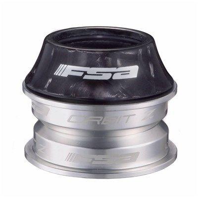 "Jeu de direction FSA Orbit Z-CF 1.1/8"" semi-intégré carbone Noir"