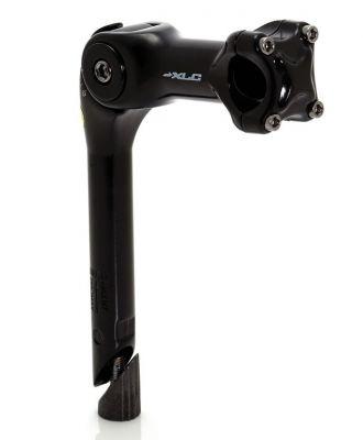 """Potence réglable XLC ST-T01 Alu 1.1/8"""" Plongeur 25,4 mm L. 100 mm Noir"""
