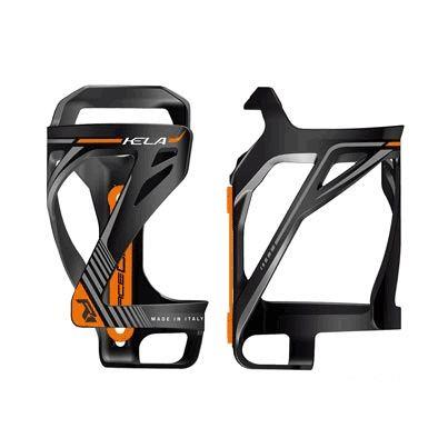 Porte-bidon entrée latérale Race One Kela Noir/Orange