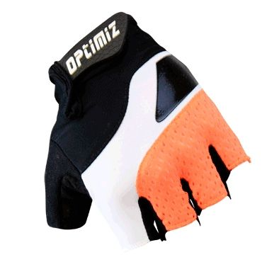 Gants été Optimiz Performer G500 Noir/Blanc/Orange Fluo