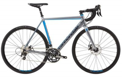 Vélo Cannondale CAAD Optimo 105 Disc Gris/Bleu
