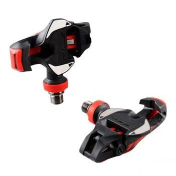 Pédales automatiques Time Xpro 12 Carbone Axe titane Noir/Rouge