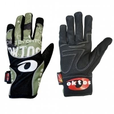 Gants longs Oktos Design Vert M