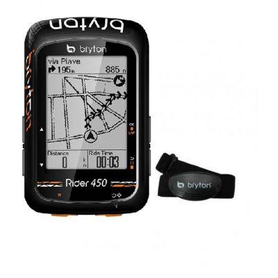 GPS Bryton Rider 450 H Bundle