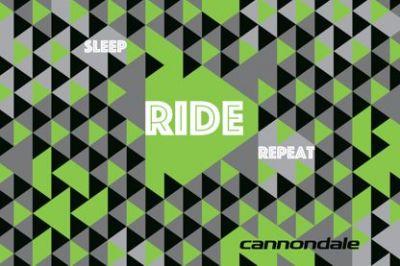 Tapis Cannondale Material Carpet 120x80 cm Vert/Gris/Noir