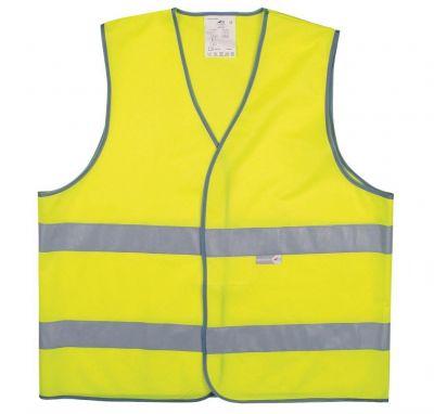 Gilet sécurité Adulte L2S Visio 543 Jaune fluorescent réfléchissant