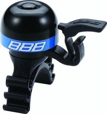 Sonnette légère BBB laiton MiniFit Noir/Bleu - BBB-16