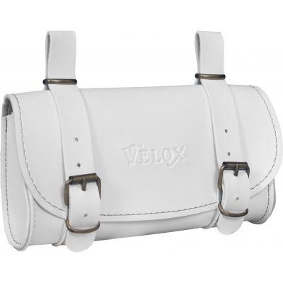 Sacoche de selle VELOX Vélo Vintage Classic Blanc