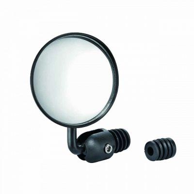 Rétroviseur G ou D Réglable Fixation extrémité cintre Noir