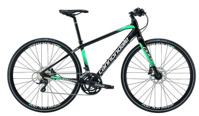 Vélo fitness Cannondale Quick Speed Disc 2 Mixte 2016 Noir/Vert