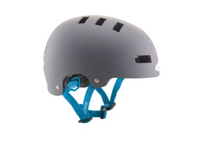 Casque Bluegrass Superbold Gris/Cyan mat