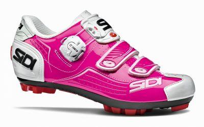 Chaussures VTT femme Sidi Trace W Fushia/Blanc
