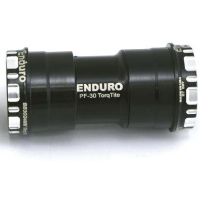 Boitier de pédalier Enduro Bearings TorqTite BKS-0111 A/C SS PF30 Axe 24 mm Noir