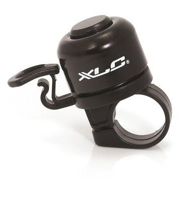 Mini sonnette XLC DD-M06 Diam. 33 mm Alu Noir